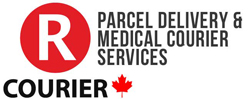 RCOURIER DELIVERY SERVICES Logo